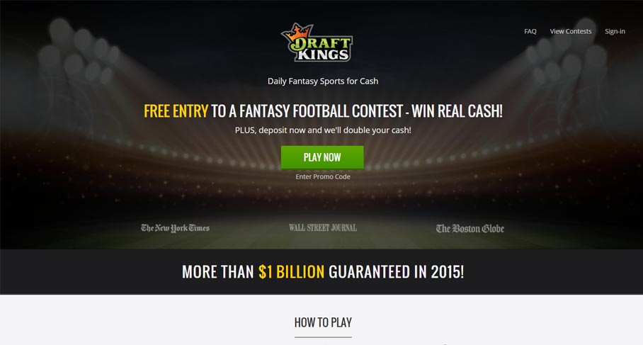 draftkings review 2015