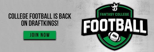 DraftKings College Football 2018 Season