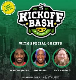 DraftKings.com Kickoff Bash Tickets