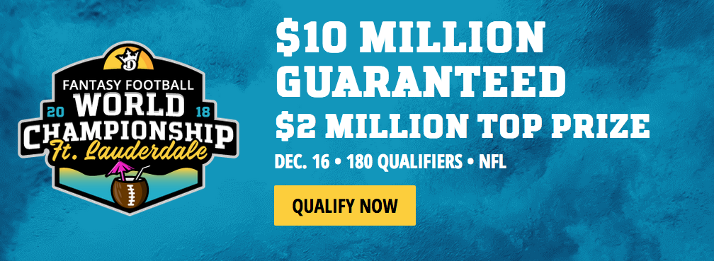 Exclusive World Championship Promo from DraftKings