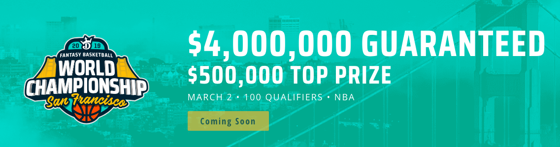 DraftKings NBA Promo for 2019
