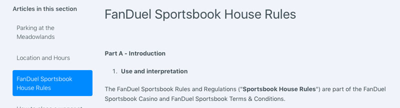 fanduel sportsbook review of house rules