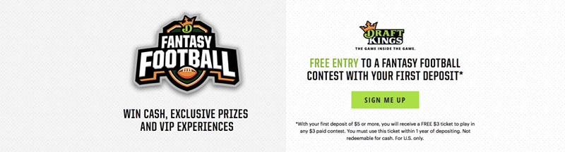 how do draftkings promo codes work