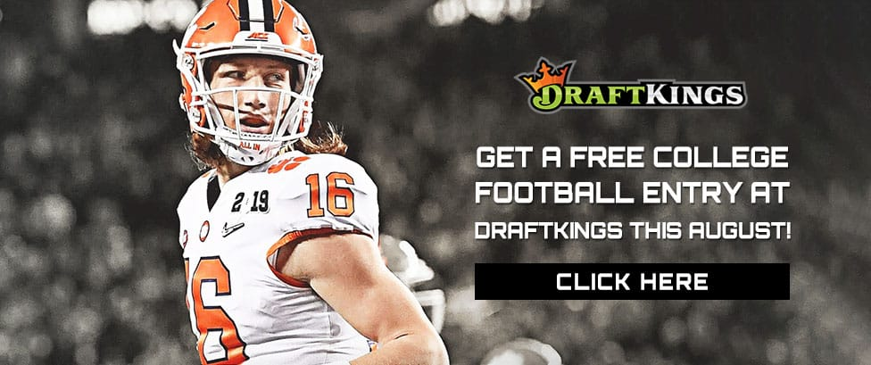 draftkings college football promotions