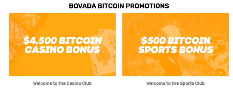 current bovada bitcoin referral code offers