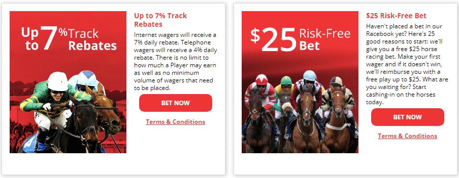 betonline racebook rebate offers