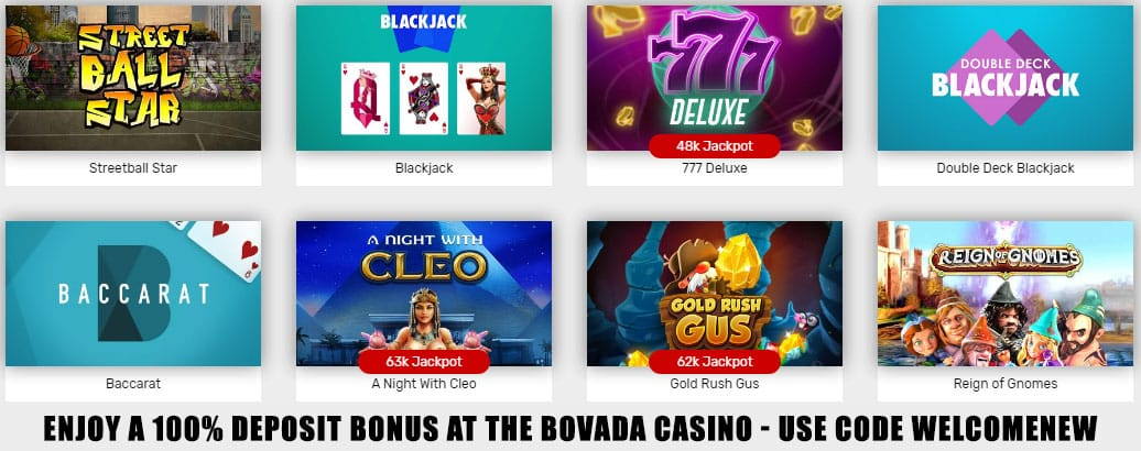 Bovada is the top legit online casino in USA