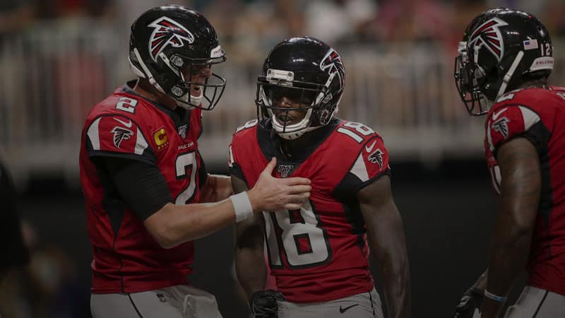 calvin ridley draftkings nfl lineup for week 5