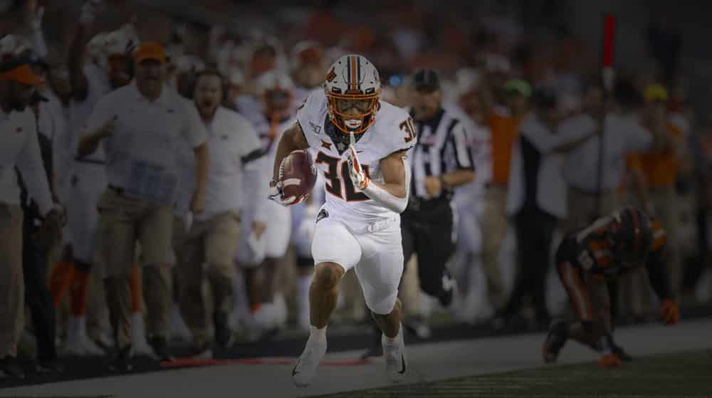 week 6 running back picks college football