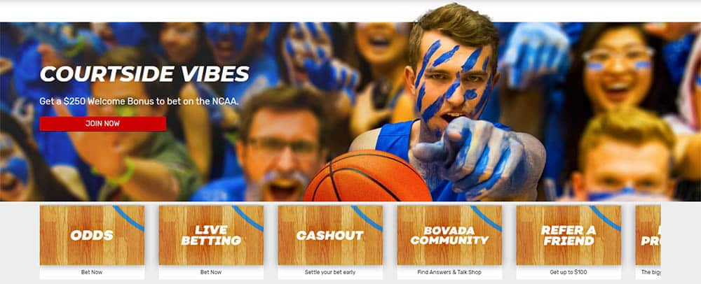 bovada new player college basketball offers for february