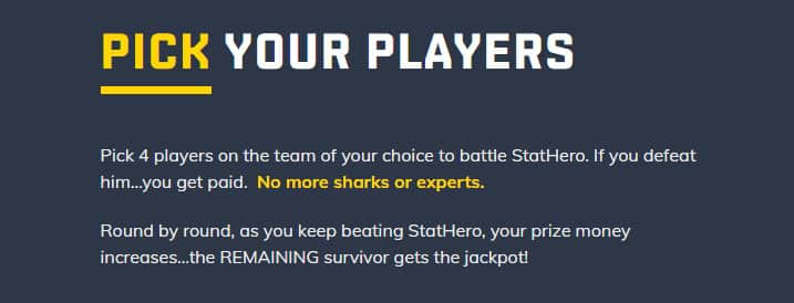 StatHero vs DraftKings