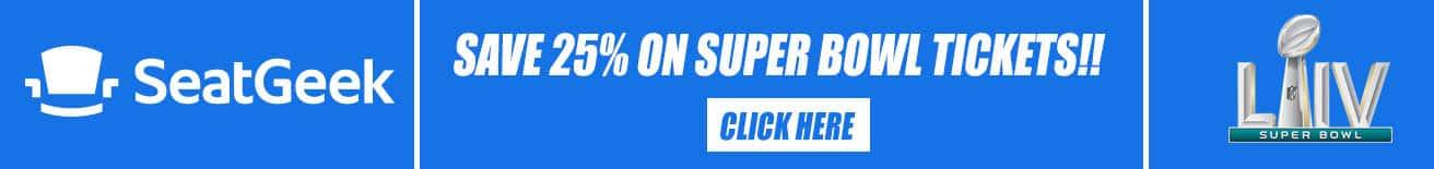 seatgeek super bowl promo