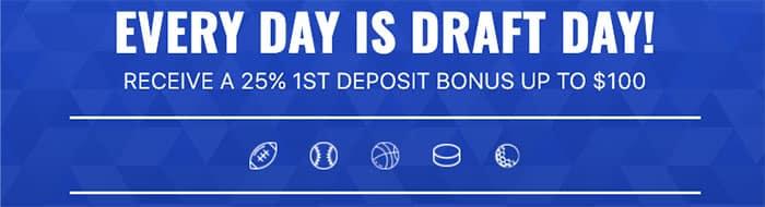 drafters deposit bonus promotion for 2020 nfl season