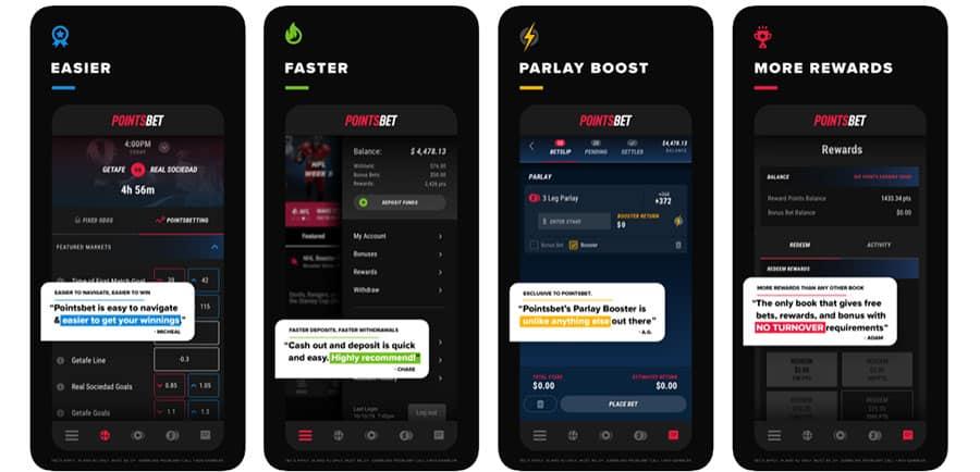 pointsbet app promo code reviews