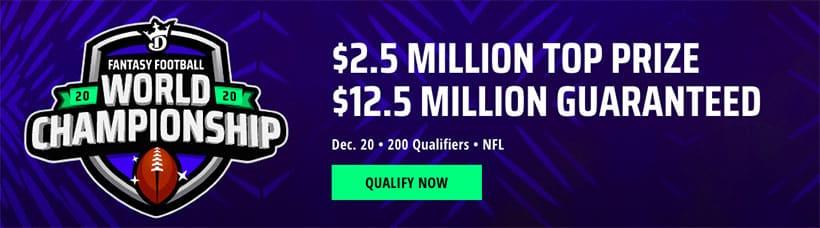 draftkings world championship promo code