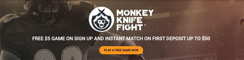 new monkey knife fight promo for september