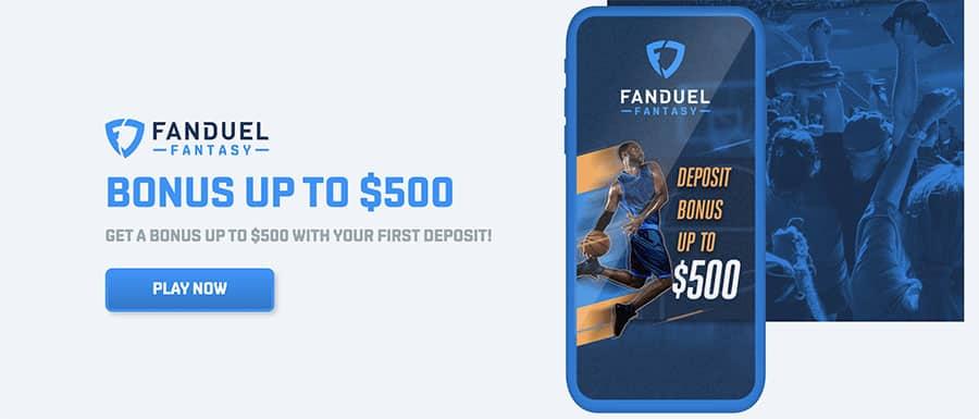 Updated FanDuel Fantasy Promotion