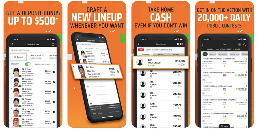 draftkings sportsbook and dfs app faqs