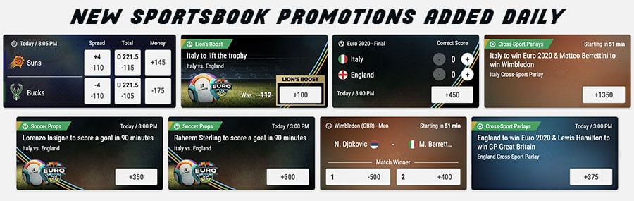 daily sportsbook promotions from betmgm