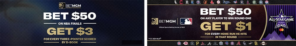 latest betmgm bonus bet offers for july