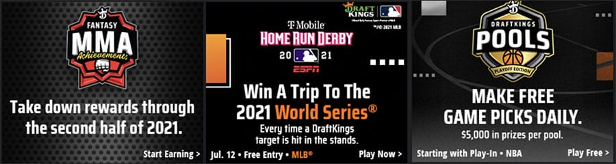 new draftkings promotions for September 2021