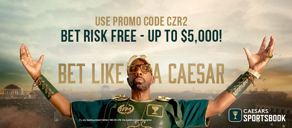 Caesars Promotion for 2021 NFL season