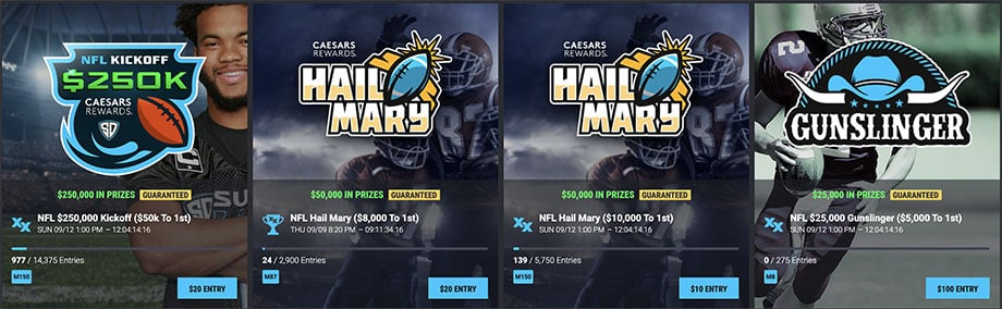 SuperDraft Promo Contest NFL Week 1
