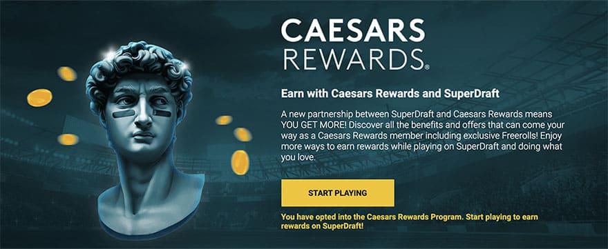 SuperDraft with Caesars Rewards