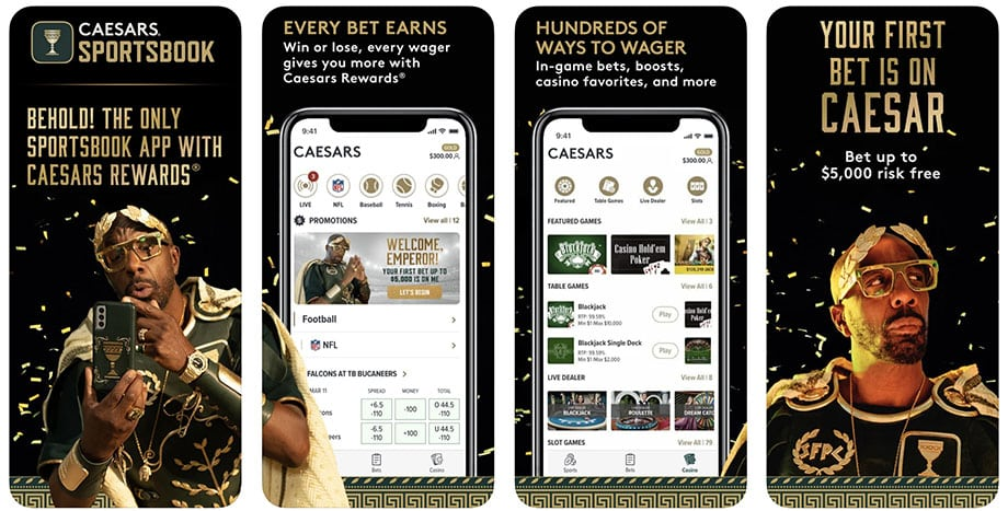 caesars sports app review
